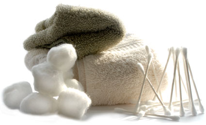 cotton and towels
